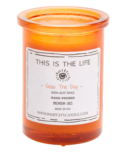 Seas The Day<br /> 6 oz. Soy Jar Candle
