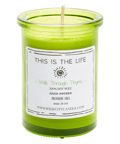 Walk Through Thyme<br /> 6 oz. Soy Jar Candle