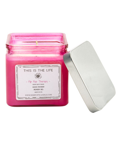 Flip Flop Therapy<br /> 19 oz. Soy Jar Candle