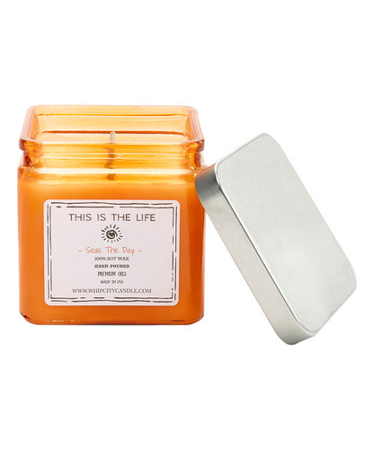 Seas The Day<br /> 19 oz. Soy Jar Candle