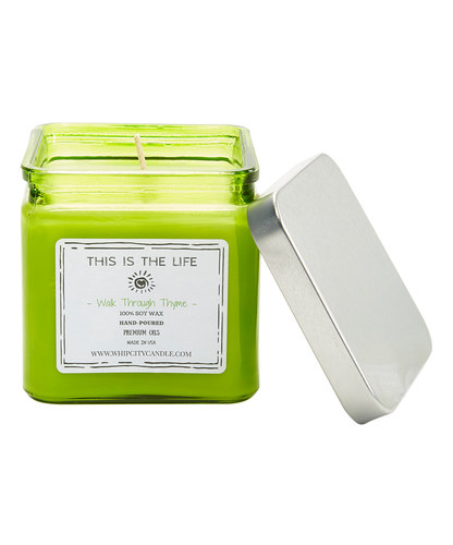 Walk Through Thyme<br /> 19 oz. Soy Jar Candle