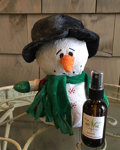 Top Hat Snowman With Oil