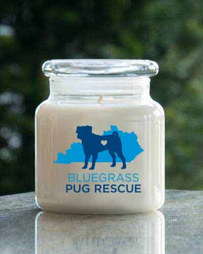 Baby Fresh <br /> 16 oz. Blue Grass Pug Rescue Jar