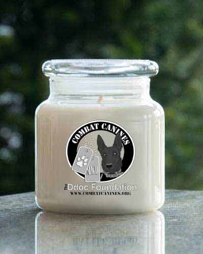 Butterscotch Candy <br /> 16 oz. Combat Canines  Jar