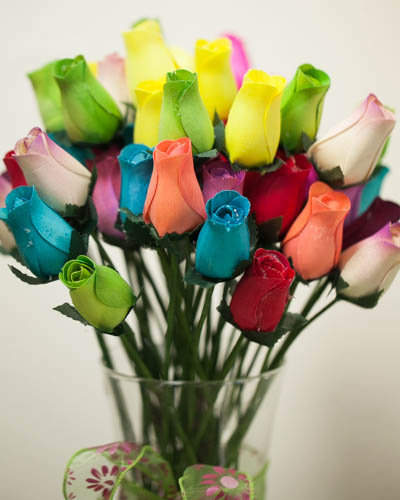 Wooden Scented Roses