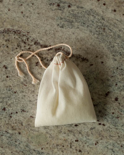 Tan Cotton Sachets