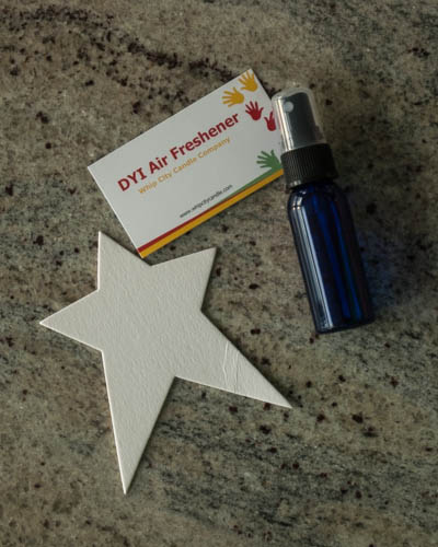 Baby Fresh <br /> DIY Star Air Freshener