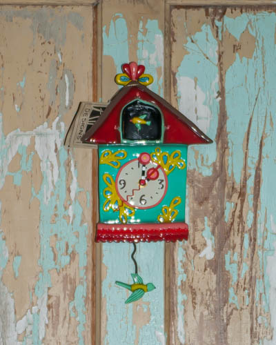 Funky Bird House <br /> Allen Designs Clock