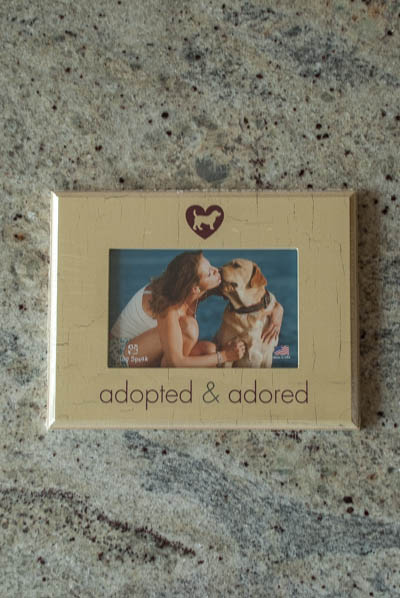 &quot;Adopted and Adored&quot; <br /> Dog Frame