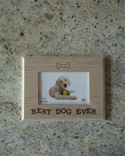 &quot;Best Dog Ever&quot; <br /> Dog Frame