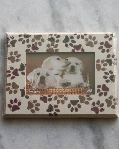 Stamped Pawprints <br /> Dog Frame