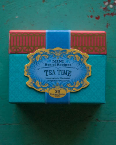 Tea Time <br />Mini Box of Recipes