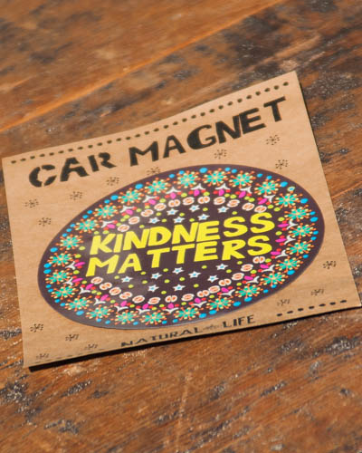 Kindness Matters <br /> Car Magnet