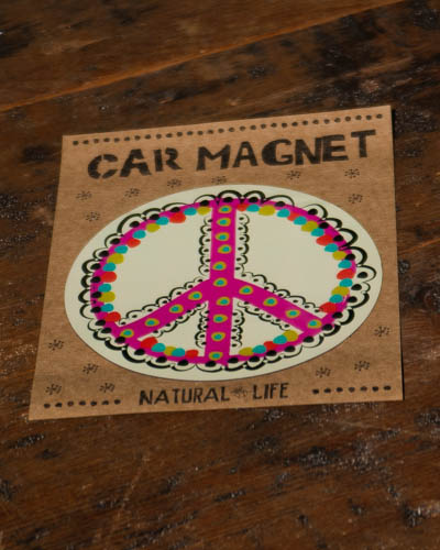 Peace <br /> Car Magnet