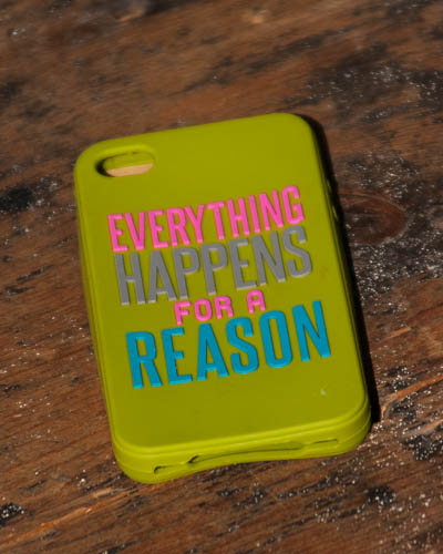 Everything Happens <br /> IPnone Case