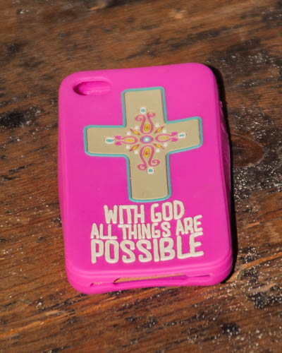 With God <br />IPhone Case