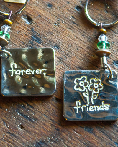 Friends Forever <br /> Token Key Chain
