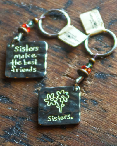 Sisters... <br /> Token Key Chain