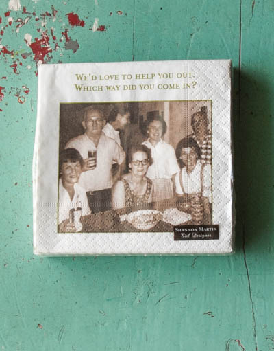 &quot;We'd Love...&quot; <br /> Shannon Martin Napkins
