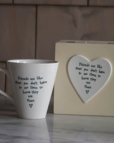 &quot;Friends Are Like Stars...&quot; <br /> Speciality Boxed Mug