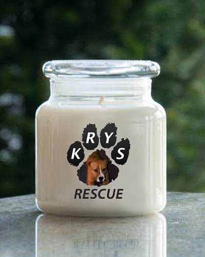 Candy Cane <br /> 16 oz. KRYSS Rescue  Jar