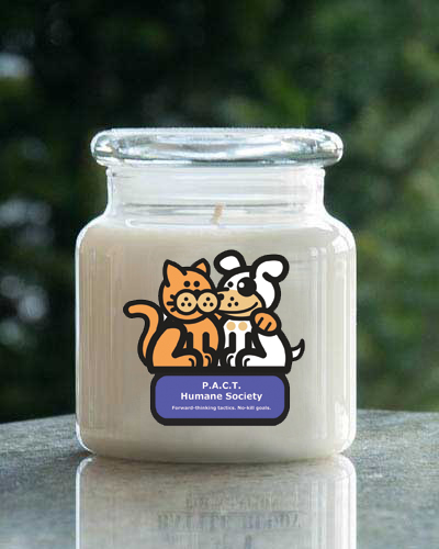 Bamboo Leaf <br /> 16 oz. PACT Humane Society  Jar