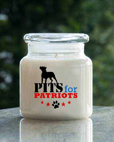 Macintosh Apple <br /> 16 oz. Pits For Patriots  Jar
