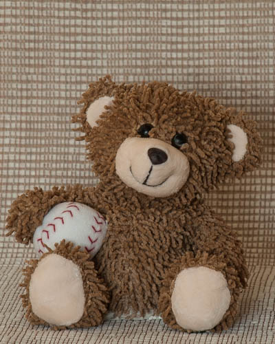 Brown Baseball Bear