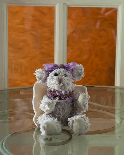 Baby Fresh <br /> Festive Purple Angel Bear