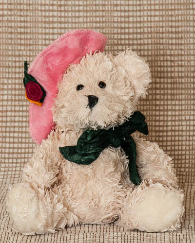 Pink Sunday Hat Bear