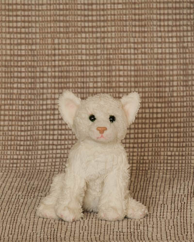 Candy Cane <br /> Small White Cat