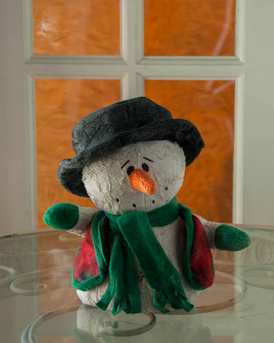 Balsam Fir <br />Whimsical Snowman