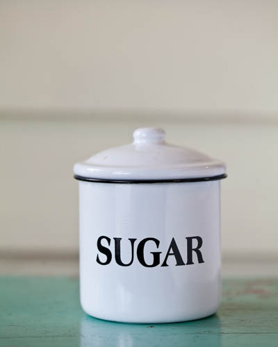 Sugar Cookie <br />10 oz. Soy Enamelware Canister