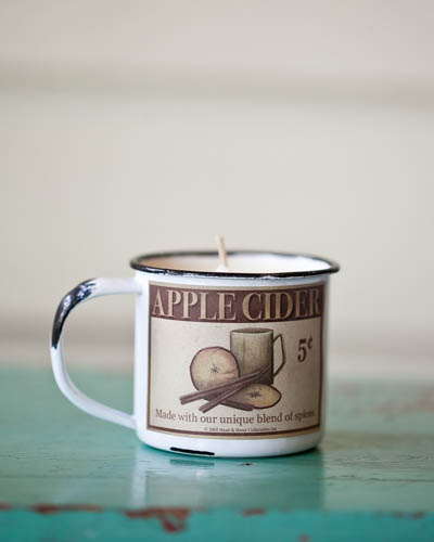 Grandpas Apple Cider <br />5 oz. Soy Enamelware Cup