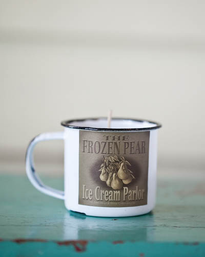 Iced Pear <br />5 oz. Soy Enamelware Cup