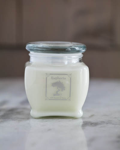 Gardenia<br />10 oz. Soy Spa Jar Candle