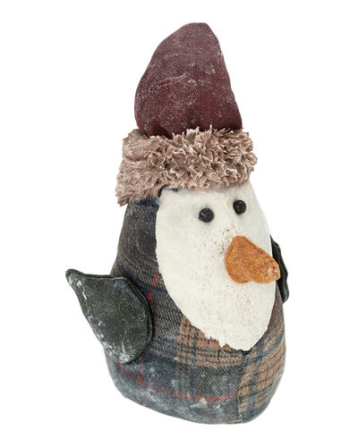 Plaid Birdy with red hat