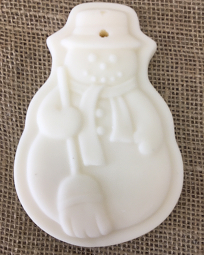 Hot Apple Pie <br /> Scented Snowman Ornament