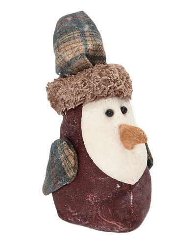 Red Birdy With Plaid Hat
