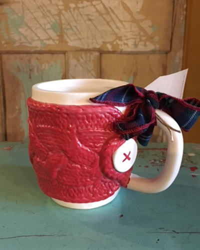 Red Sweater Mug