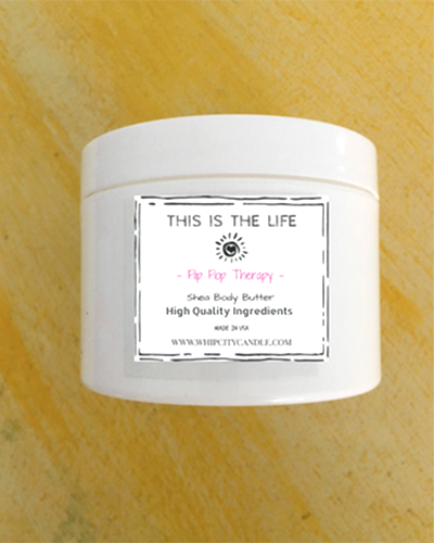 Flip Flop Therapy <br /> 8oz. Shea Body Butter