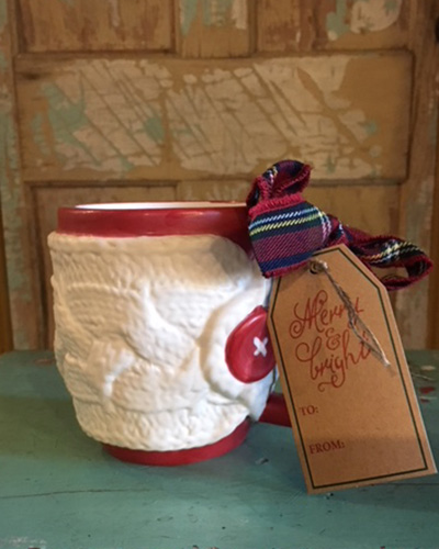 Cream Sweater Mug