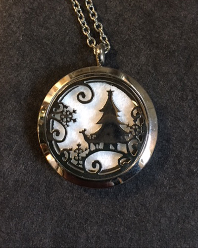 Aromatherapy Winter Necklace
